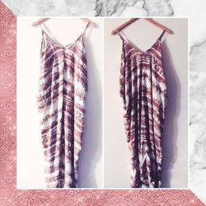 Fable 💕 Tie die maxi dress